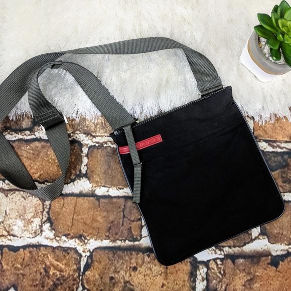 9725ab2c7bcb Prada Sport Nylon Crossbody Bag. M 5ae214e95512fd0cb04451e8